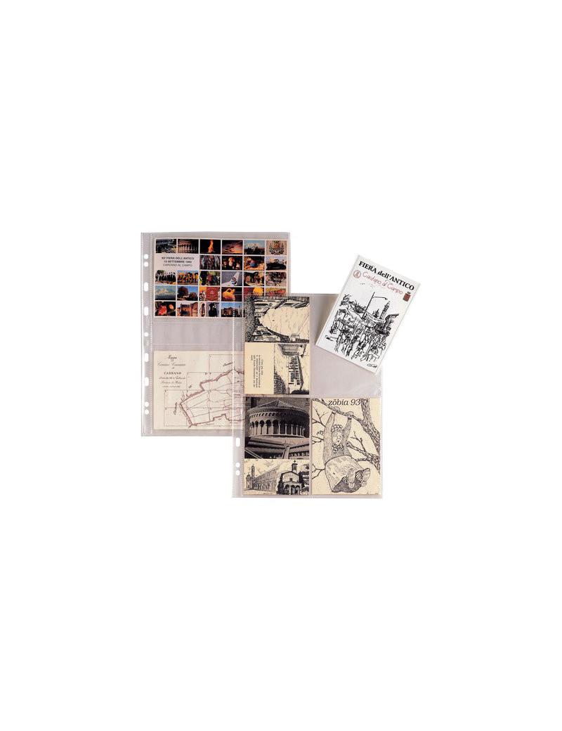 Buste Atla FT Sei Rota - 21x29,7 cm - 4 Spazi (Trasparente Conf. 10)
