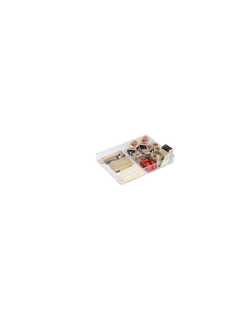 Organizer Cassetto 6 Scomparti Coffee Point Durable - 7,9x7,9x10 cm
