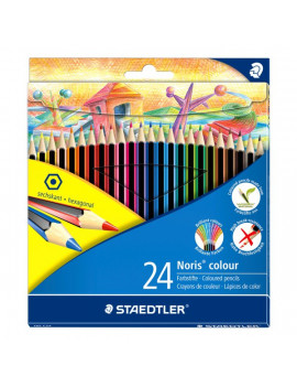 Matite Colorate Noris Colors Staedtler (Conf. 24)