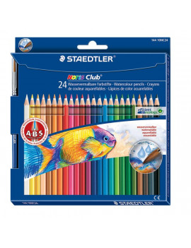 Matite Colorate Acquerellabili Noris Colors Staedtler (Conf. 24)