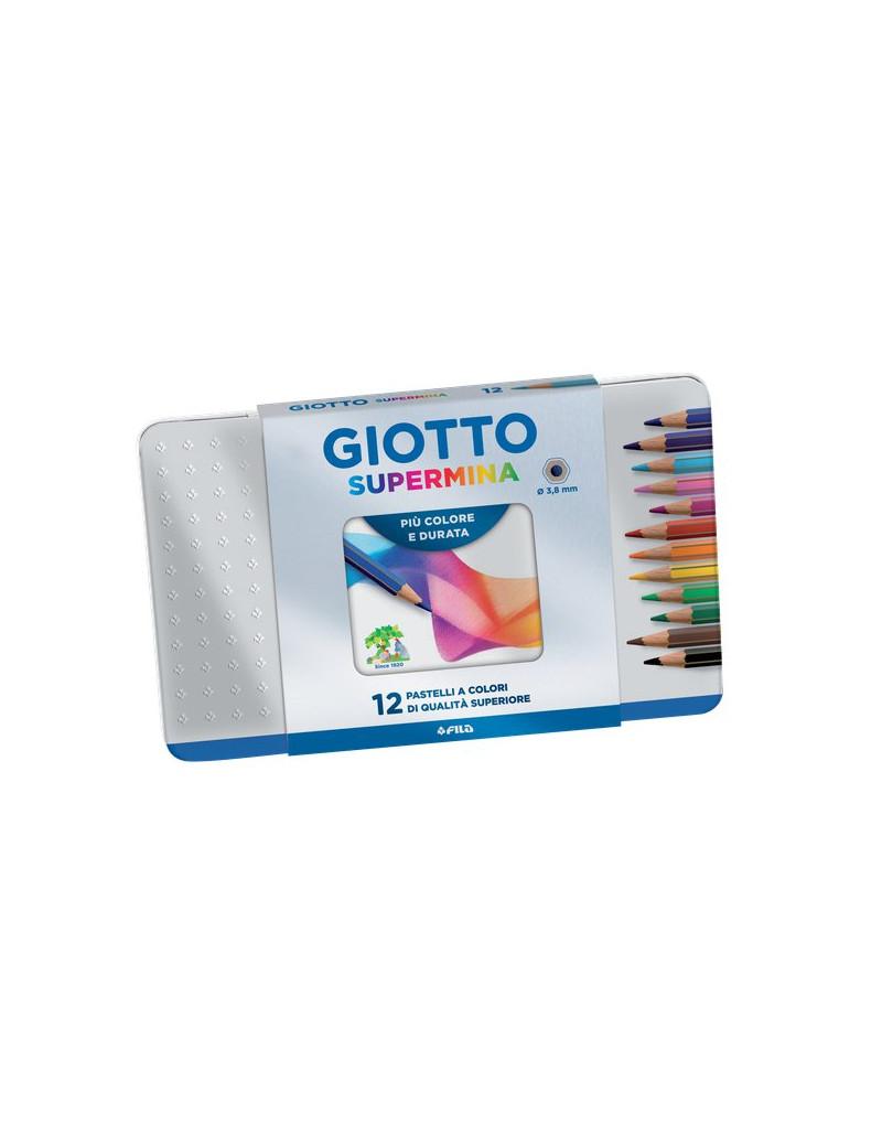 Pastelli Giotto Supermina (Assortiti Conf. 12)