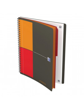 Blocco Spiralato Activebook International Oxford - B5 - 18x25 cm - 5 mm - 80 - 90 g