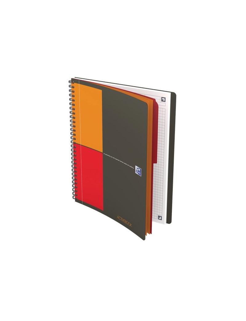 Blocco Spiralato Activebook International Oxford - B5 - 18x25 cm - 5 mm - 80 - 90 g