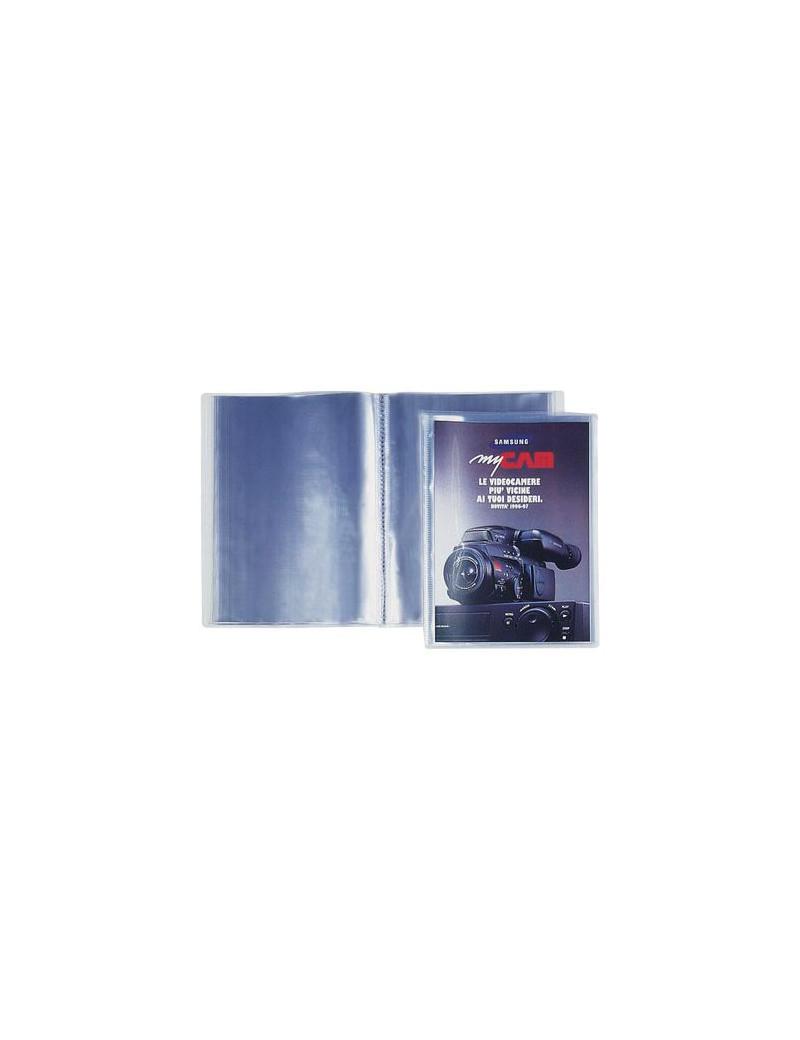 Portalistini Personalizzabili Sviluppo Favorit - 22x30 cm - 10 Buste (Trasparente)