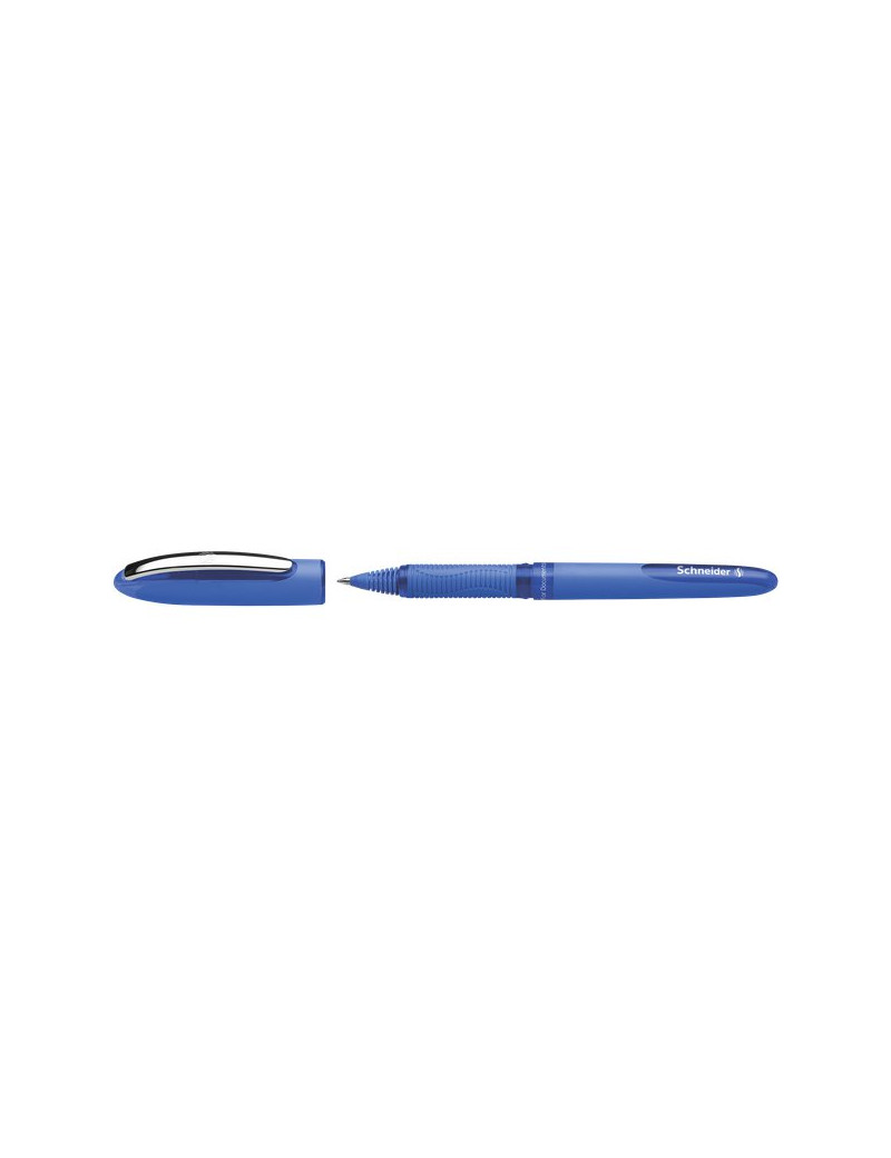 Penna Roller One Hybrid Schneider - Conica 0,5 mm - Blu