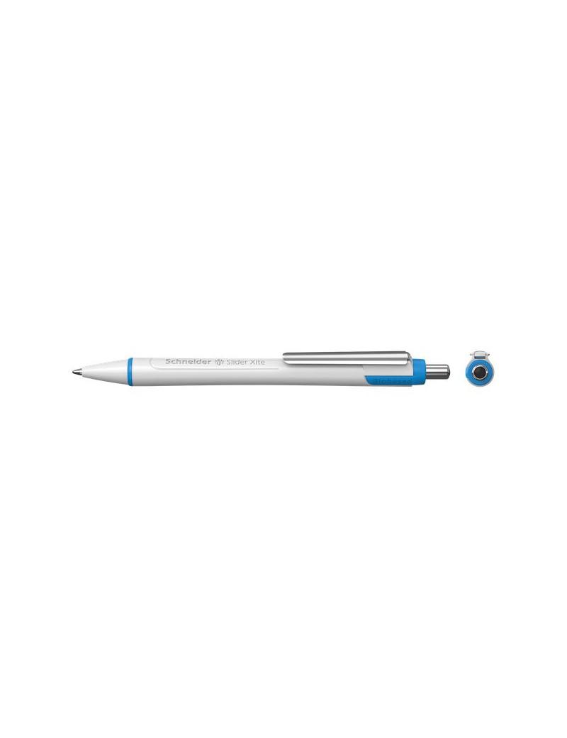 Penna a Sfera a Scatto Slider Xite XB Schneider - Nero