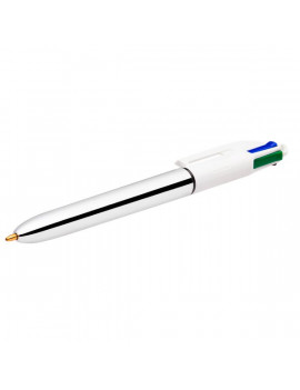 Penna a Sfera 4 Colours Shine Silver - 1 mm