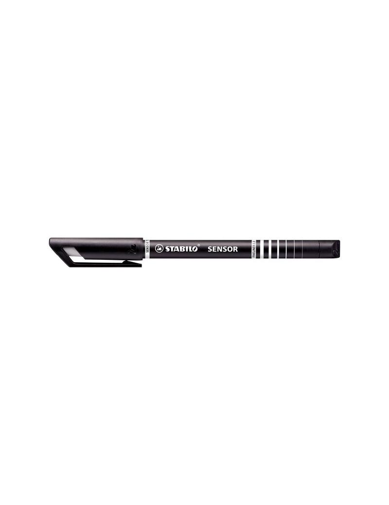 Fineliner Sensor Stabilo - Nero (Conf. 10)