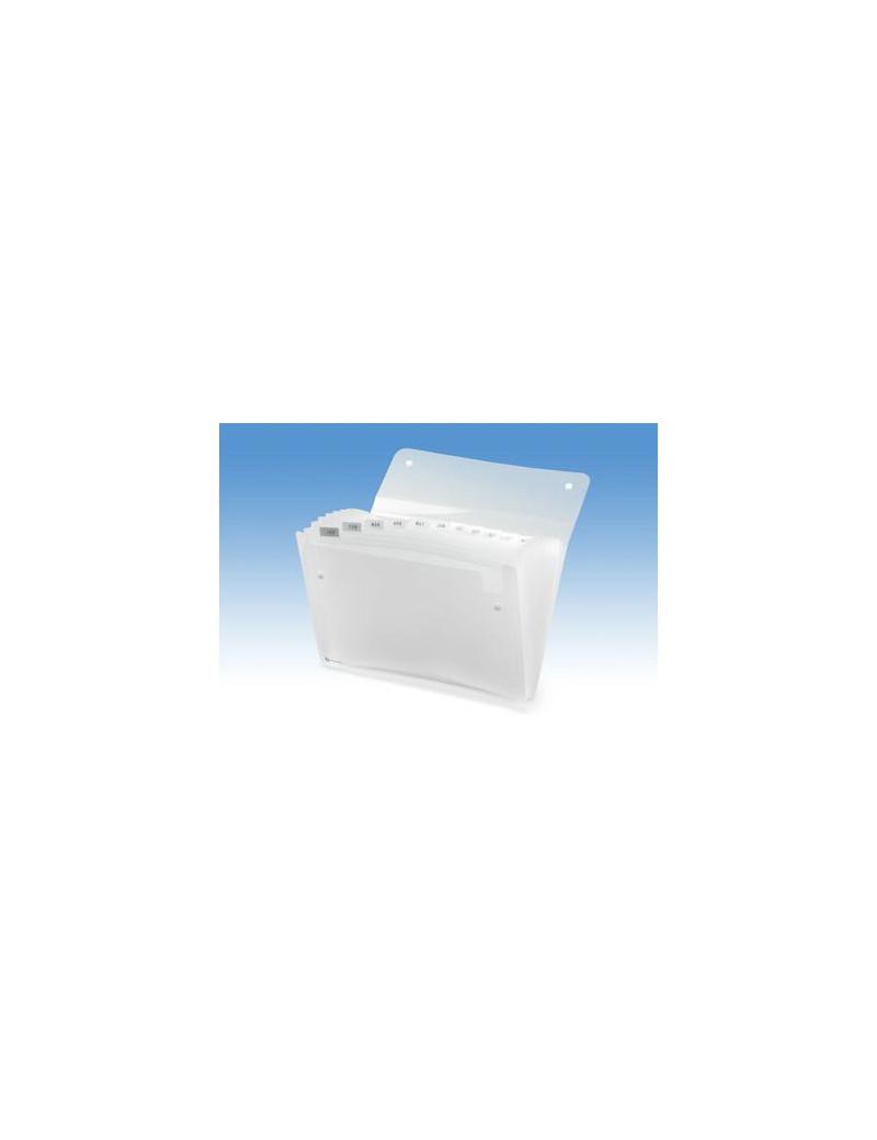 Archiviatore a Soffietto Ice Rexel - 13 Tasche - 2102035 (Bianco)