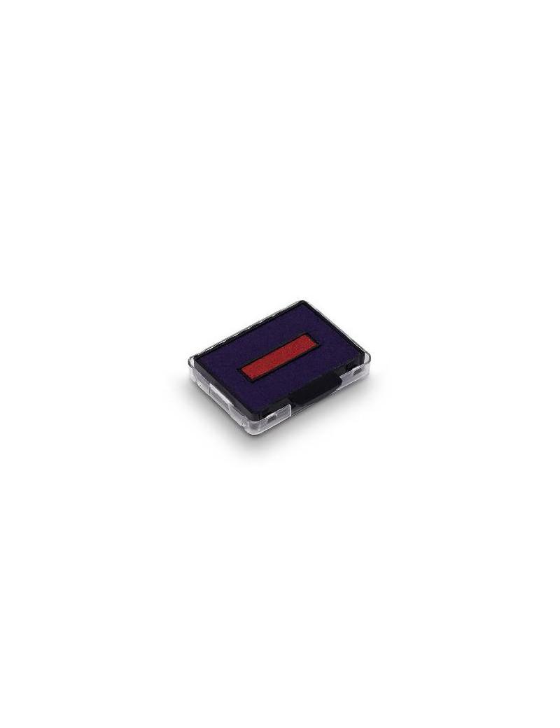 Cartuccia per Datario Autoinchiostrante con Testo Commerciale Printy Trodat 4750 - Blu/Rosso (Conf. 3)