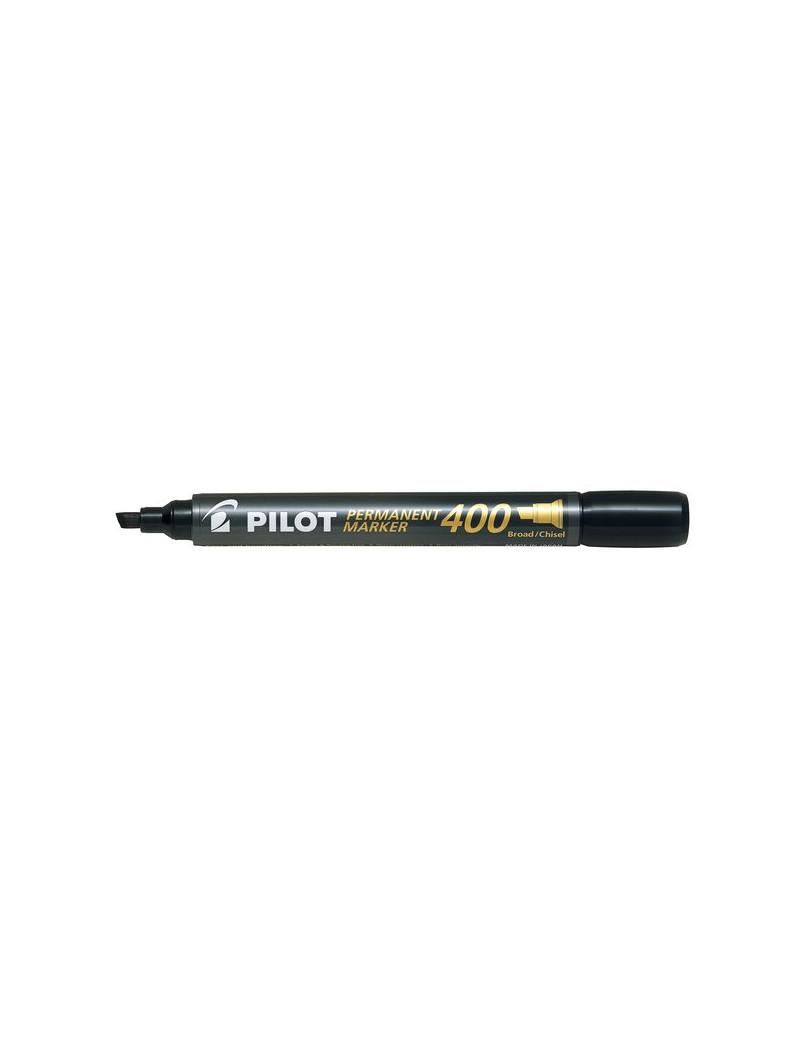 Marcatore Permanente SCA 400 Pilot - Punta a Scalpello - 4 mm - Nero (Conf. 12)