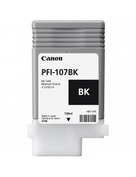 Cartuccia Originale Canon PFI-107bk 6705B001 (Nero 130 ml)