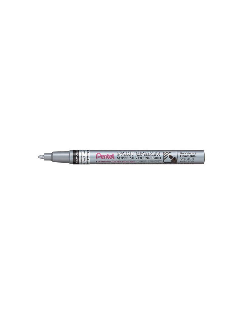 Paint Marker Pentel - Argento (Conf. 12)