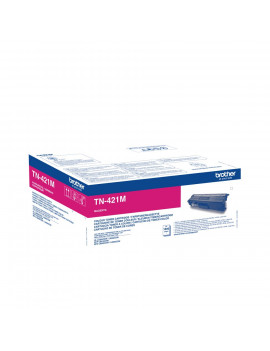 Toner Originale Brother TN-421M (Magenta 1800 pagine)