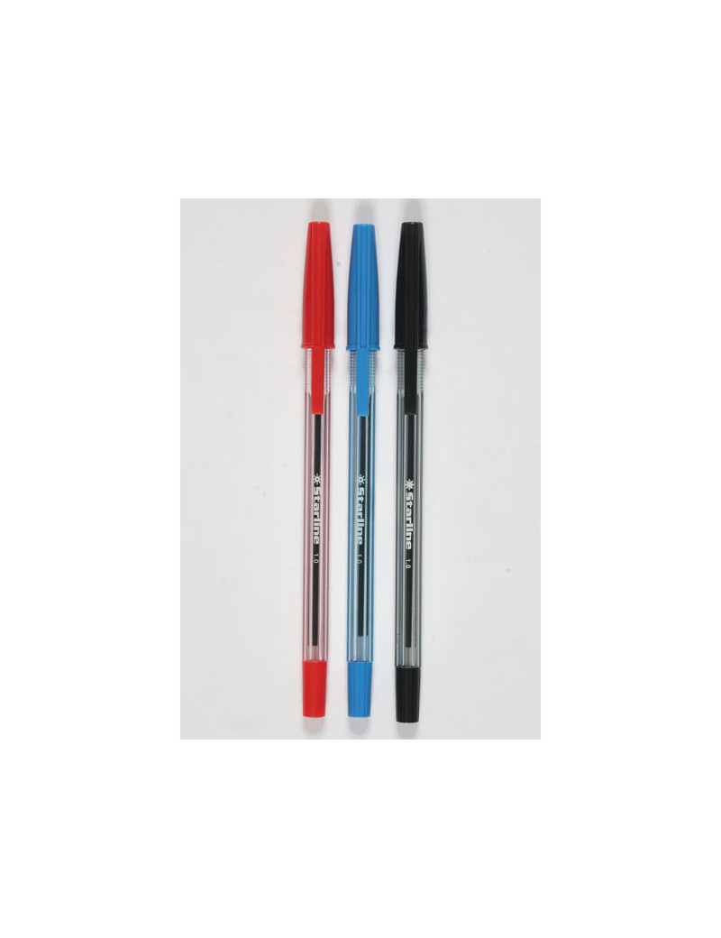 Penna a Sfera Starline - 1 mm - Nero (Conf. 50)