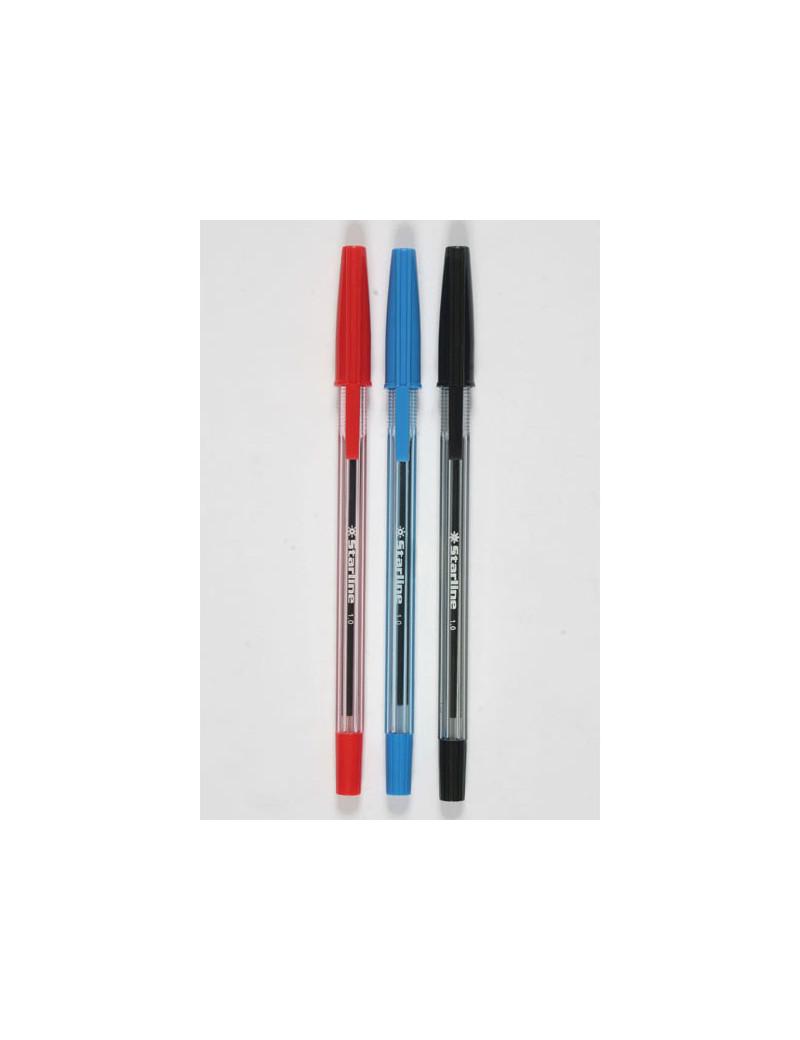 Penna a Sfera Starline - 1 mm - Rosso (Conf. 50)