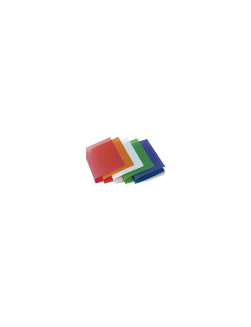 Raccoglitore Starline - 4 Anelli Tondi - Ø30 mm - 22x30 cm - Rivestito in PPL - Trasparente Assortiti (Conf. 6)
