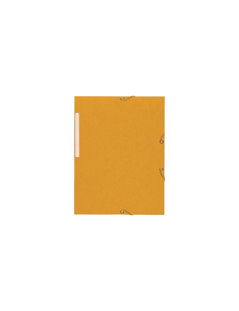 Cartella 3 Lembi Nature Future Exacompta - Dorso 1,5 cm - 24x32 cm - 55509E (Giallo Conf. 25)