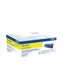 Toner Originale Brother TN-423Y (Giallo 4000 pagine)
