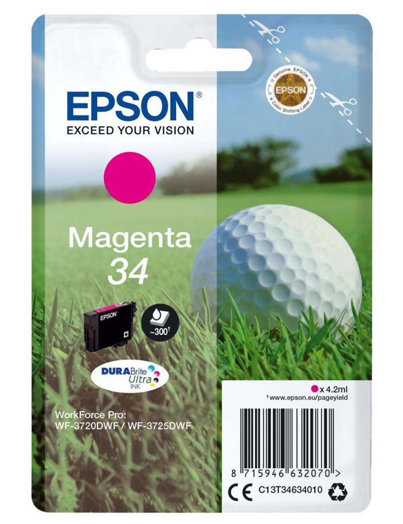 Cartuccia Originale Epson T346340 (Magenta 300 pagine)