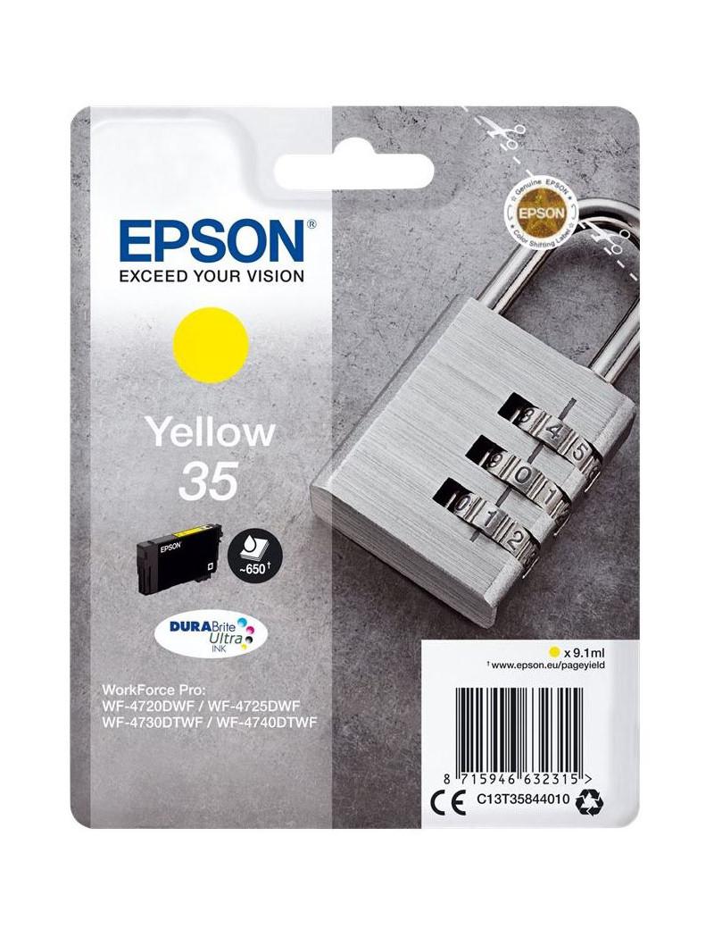 Cartuccia Originale Epson T358440 (Giallo 650 pagine)