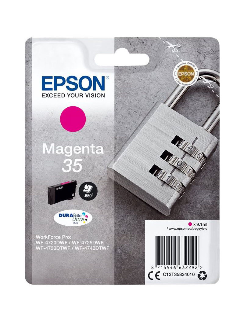 Cartuccia Originale Epson T358340 (Magenta 650 pagine)