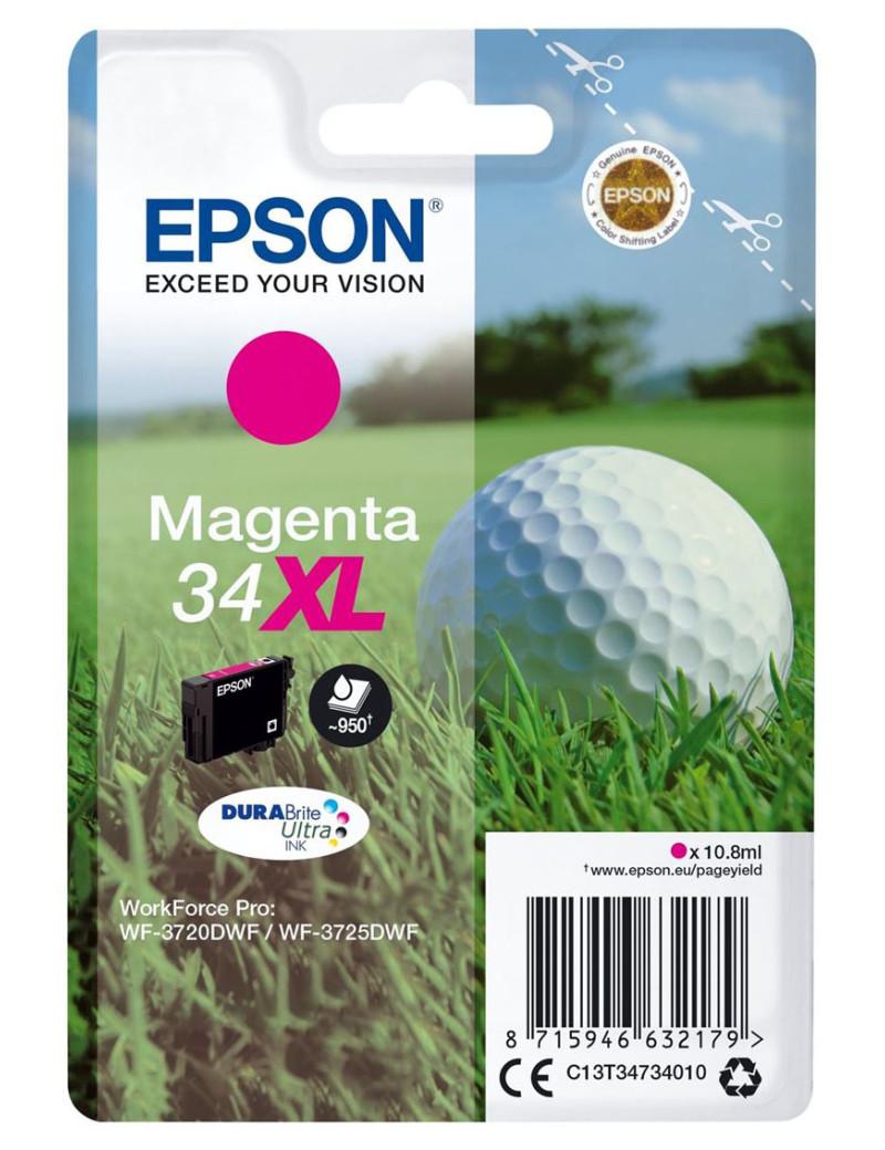 Cartuccia Originale Epson T347340 (Magenta 950 pagine)
