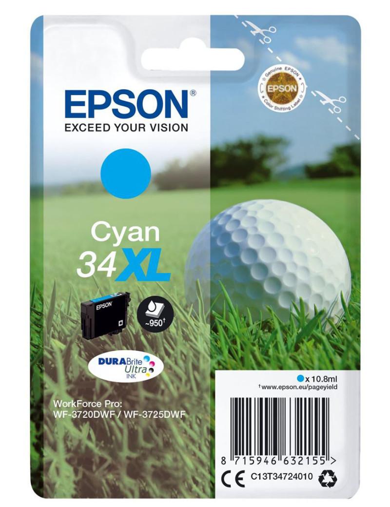 Cartuccia Originale Epson T347240 34XL (Ciano 950 pagine)