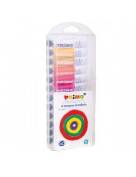 Tubetto Tempera Primo - 12 ml - Assortiti (Conf. 12)