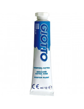 Tubetto Tempera Giotto Fila - 12 ml - 352015 (Cyan Conf. 6)