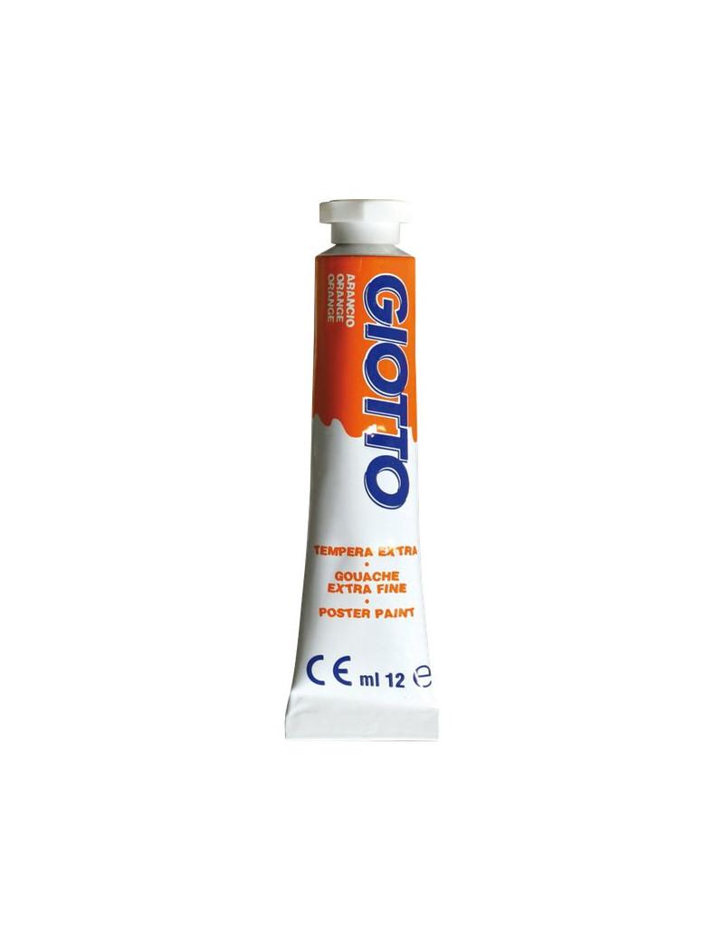 Tubetto Tempera Giotto - 12 ml - Arancione (Conf. 6)