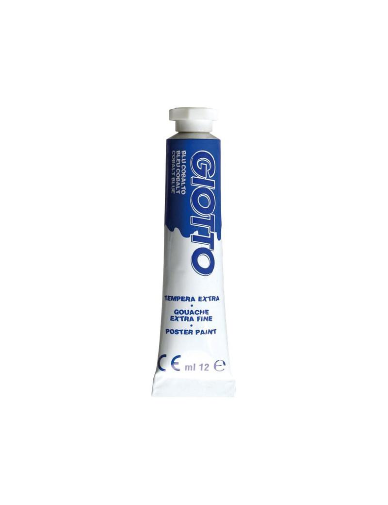 Tubetto Tempera Giotto - 12 ml - Blu Cobalto (Conf. 6)