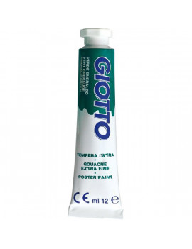 Tubetto Tempera Giotto - 12 ml - Verde Smeraldo (Conf. 6)