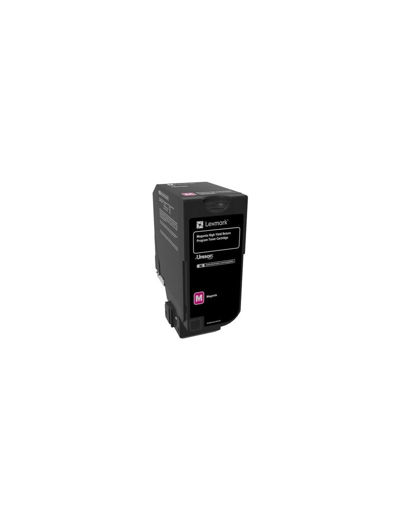 Toner Originale Lexmark 74C2HM0 (Magenta 12000 pagine)