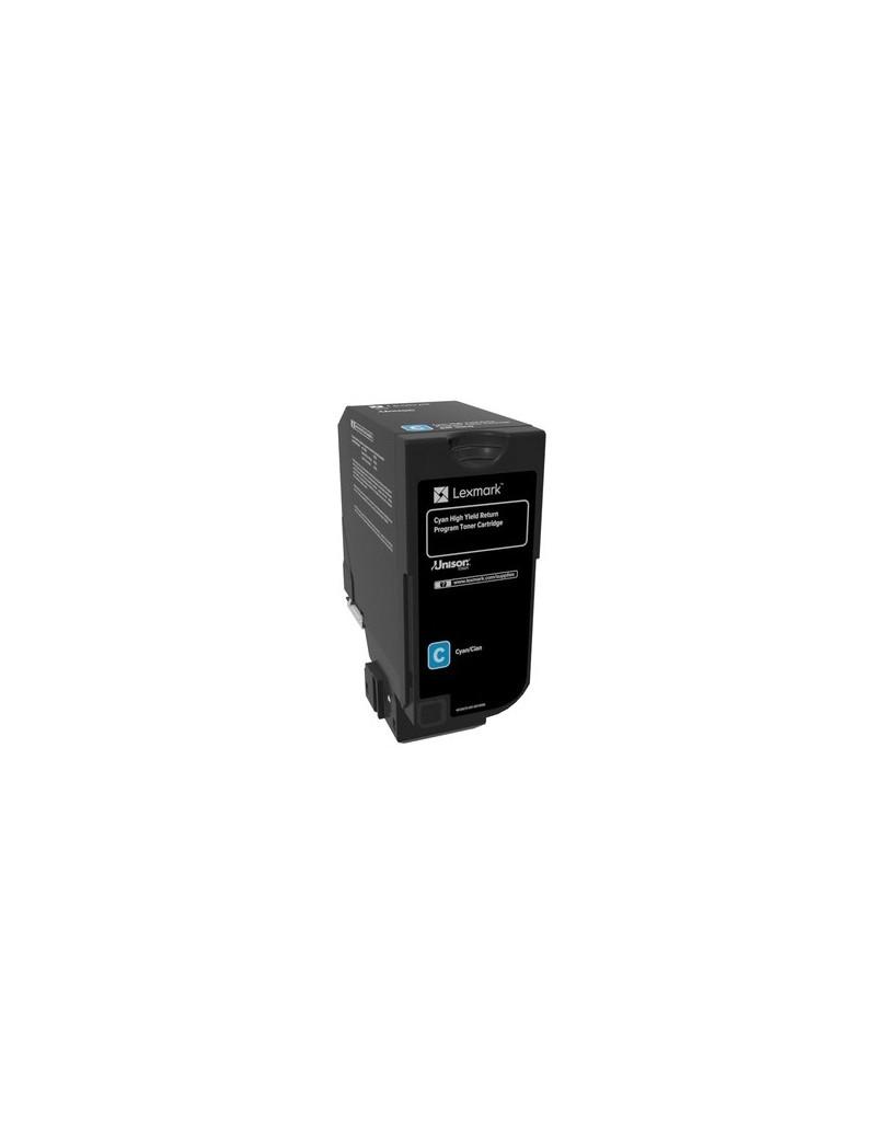 Toner Originale Lexmark 84C2HC0 (Ciano 16000 pagine)