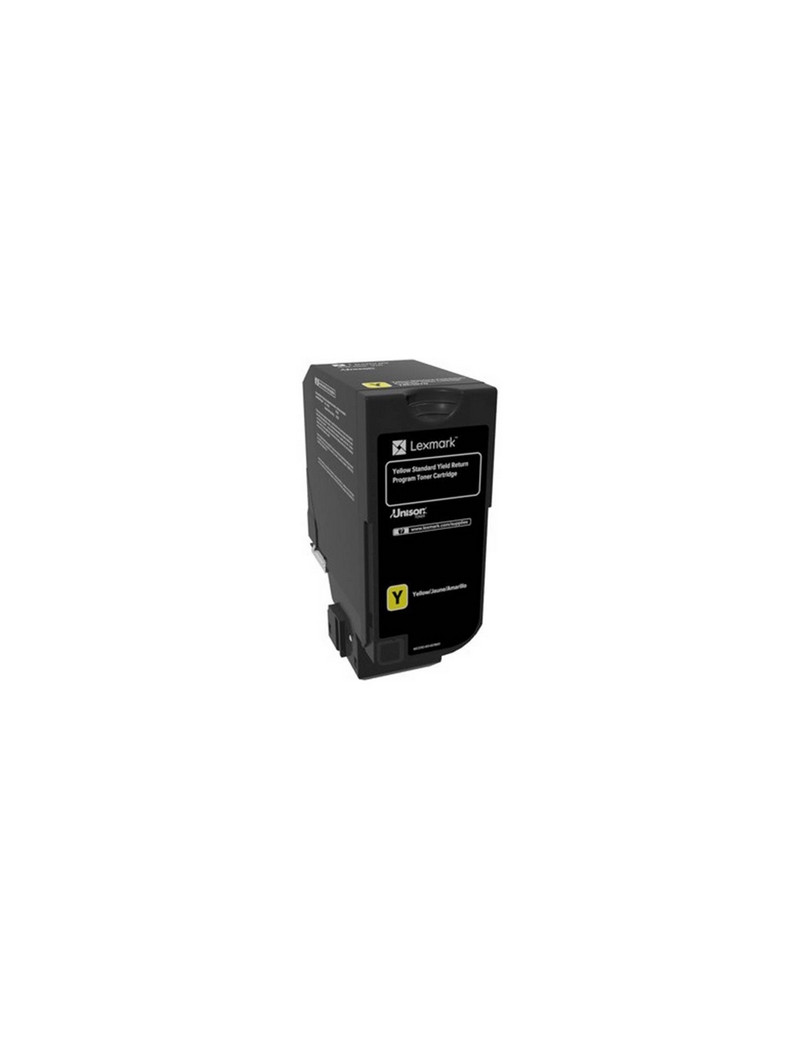 Toner Originale Lexmark 84C2HY0 (Giallo 16000 pagine)