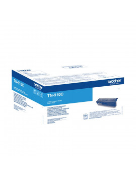 Toner Originale Brother TN-910C (Ciano 9000 pagine)