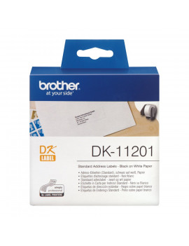 Etichette Adesive in Carta Brother DK-11201 - 29x90 mm (Conf. 400)