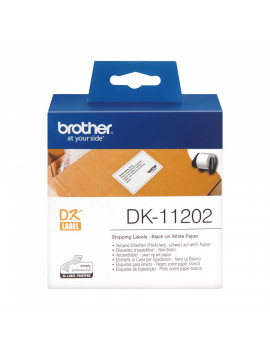 Etichette Adesive Brother DK-11202 - 62x100 mm (Conf. 300)