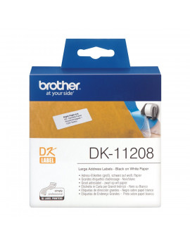 Etichette Adesive Brother DK-11208 - 38x90 mm (Conf. 400)