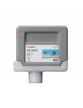 Cartuccia Originale Canon PFI-301pc 1490B001 (Ciano Foto 330 ml)