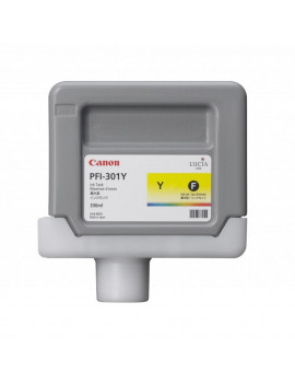 Cartuccia Originale Canon PFI-301y 1489B001 (Giallo 330 ml)