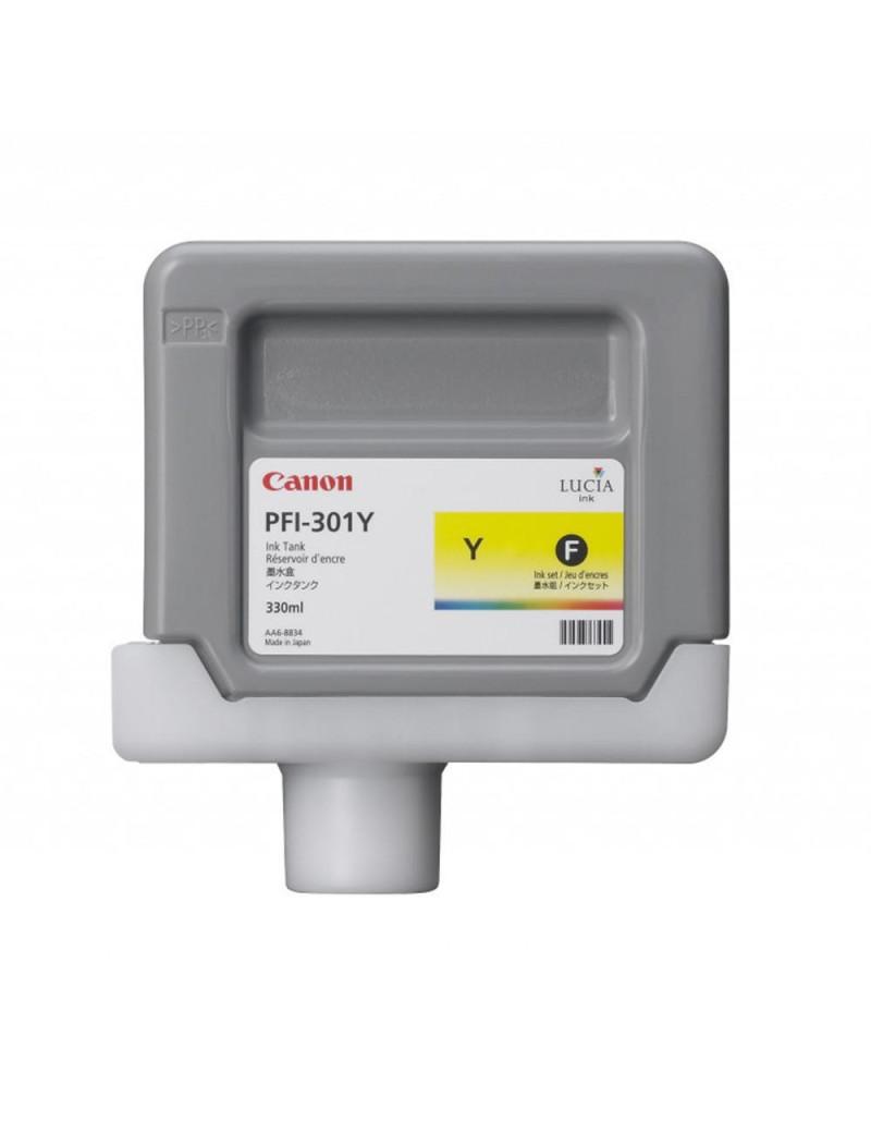 Cartuccia Originale Canon PFI-301y 1489B001 (Giallo 330 ml)