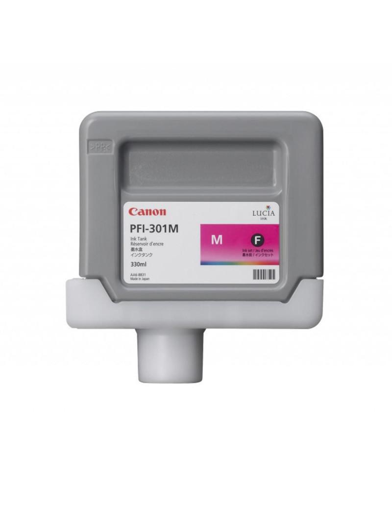 Cartuccia Originale Canon PFI-301m 1488B001 (Magenta 330 ml)