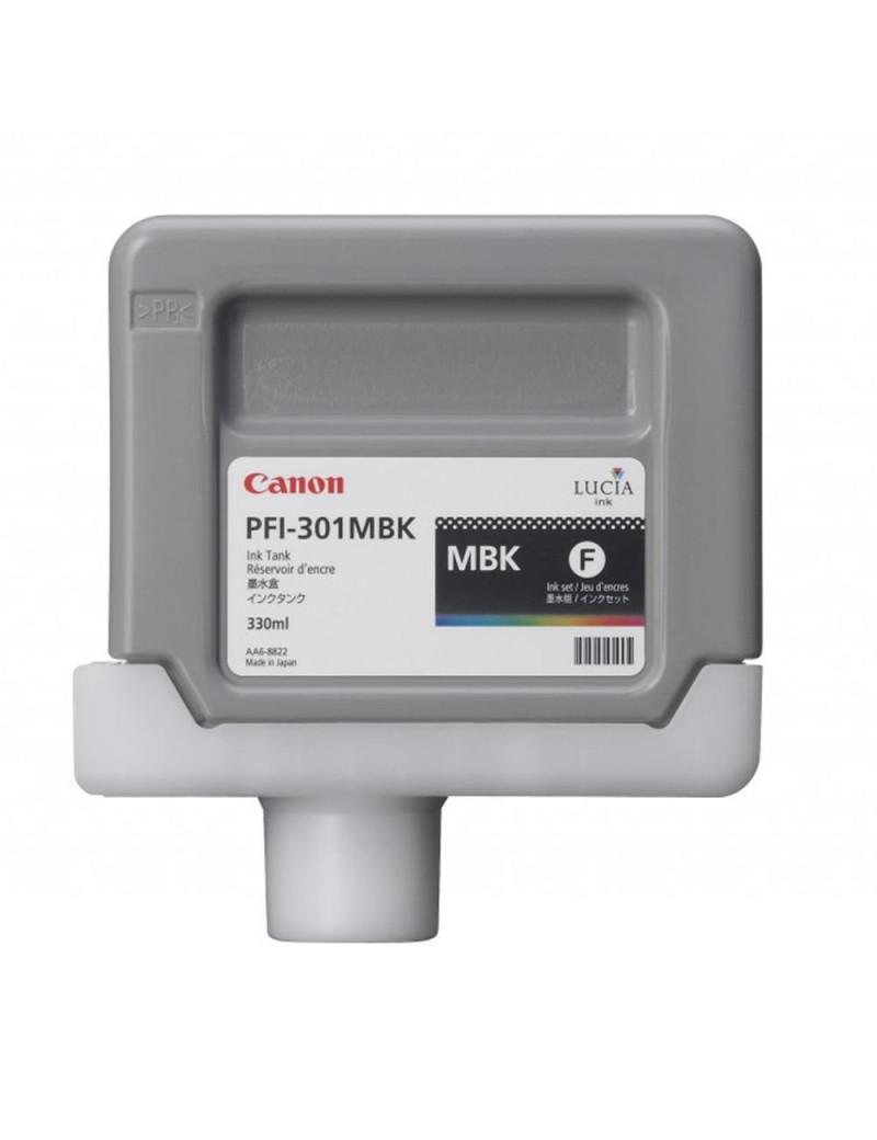 Cartuccia Originale Canon PFI-301mbk 1485B001 (Nero Opaco 330 ml)