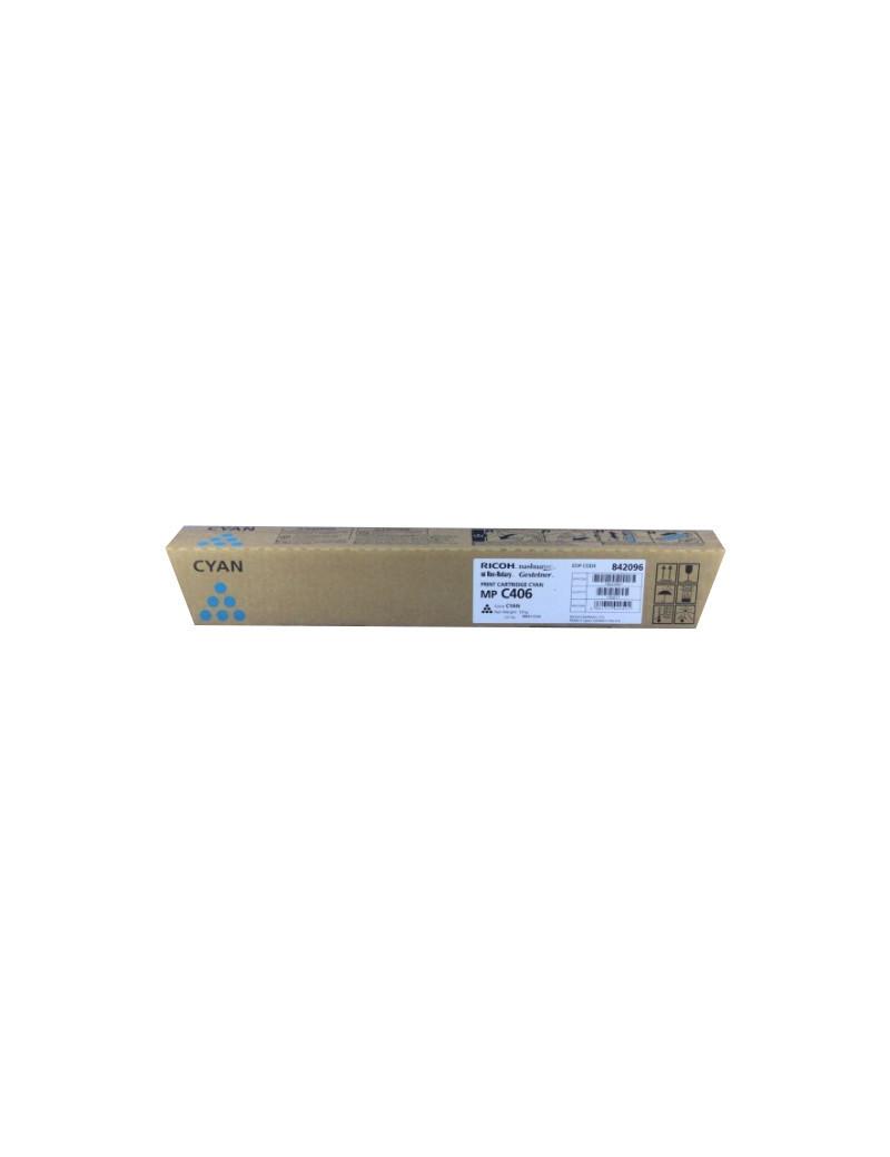 Toner Originale Ricoh 842096 MP C306 (Ciano 6000 pagine)