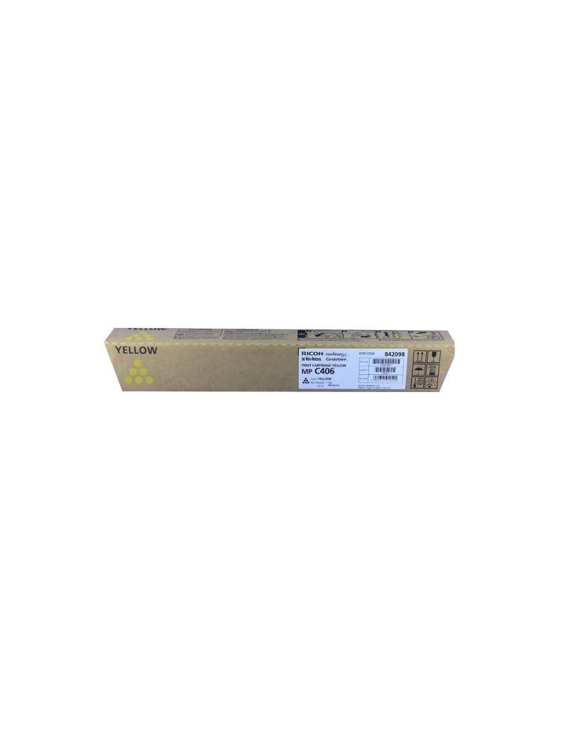 Toner Originale Ricoh 842098 MP C306 (Giallo 6000 pagine)