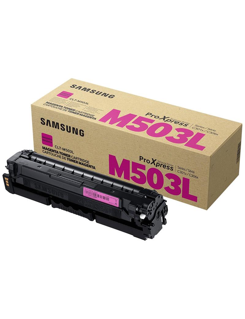 Toner Originale Samsung CLT-M503L SU281A (Magenta 5000 pagine)