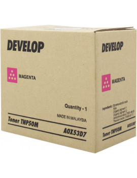 Toner Originale Develop TNP50M A0X53D7 (Magenta 5000 pagine)