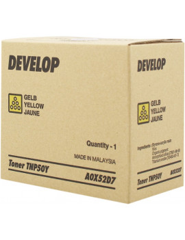 Toner Originale Develop TNP50Y A0X52D7 (Giallo 5000 pagine)
